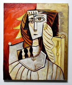 Beautiful Pablo Picasso Huile sur toile Décor à la maison Pablé à la main HD Imprimé Huile Peinture sur toile Art Art Toile Photos 201130