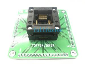 OTQ-64-0.5-06 ENPLALS IC Socket Test TQFP64 per imast PROGRAMMING Adattatore TQFP64 0.5mm Pitch Burn In Presa