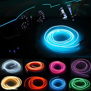 cheap The 5-meter EL with edge LED cold light inside the car atmosphere light strip clip type hair atmosphere1