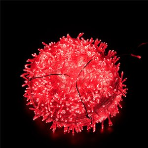Christmas LED lights string full of star 220V copper wire Christmas decorations star lights outdoor lantern holiday lighting YYB2073
