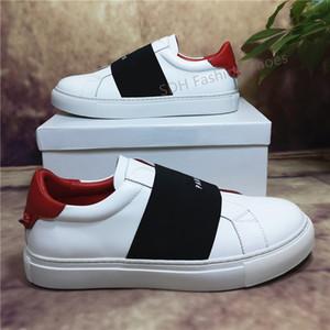 2021 Top Quality Hommes Femmes Cuir Casual Chaussures Casual Best Best Mode White Cuir chaussures Appartement à l'extérieur Daily Dress Party Chaussures