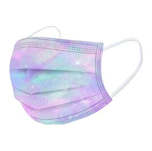 Designer Disposable Face Masks 3 Layers 95% Melt Blown Cloth Dust Air Anti-Pollution Fashion Print Colorful Starry Sky Mask GWF5375