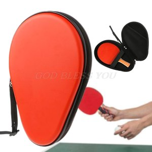 Ping Pong Paddle Case 2 Cavity Table Tennis Racket Bag Cover Durable Drop Shipping Q1202