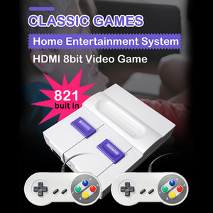 Game Console HDMI Mini Classic TV Game Console can store 821 video games For SNES Games Console Children Gift