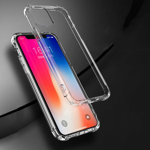 TPU Phone case Transparent Phone Case Soft Anti-knock Phone cover for iPhone Heavy Duty Protection TPU Silicone Shockproof
