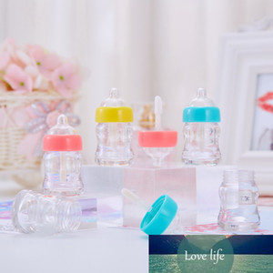 6ml Cosmetic Novelty Milk bottle lip gloss tube Bottle Lipgloss Tube Packaging Plastic Transparent Gloss Empty Container