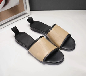 HOT Women Slide Sandals women Shoes Slide Summer Fashion Wide Flat Slippery Thick Sandals Slipper Flip Flops shoe008 159