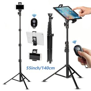 Cell Phone Selfie Stick Travel Tripod Stand for Mobile Phones iPhone iPAD HUAWEI Xiaomi Redmi Tablets wireless Bluetooth Portabl Y1128