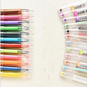 Ballpoint Pens 0 .5mm Diamond GEL Pen Симпатичные ручки Канцтовары Новизна Подарок Caneta Papelaria Office Материал Эсколар Школьные принадлежности