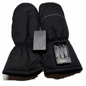 finger outdoor and electric Battery battery dry heating warm skiing thickened gloves heating gloves 4sp8W