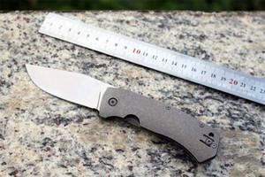 C186 Coltelli Rosa Rondella Sistema D2 Blade TC4 Maniglia in titanio Outdoor Camping Rescue Survival Gear EDC Attrezzi a mano Pieghevole tattico