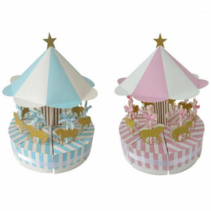 Романтическая карусель Candy Box изящный и красивый творческий и уникальный сладкий свадьба по случаю дня рождения декор вечеринки гость благодаря подарку1