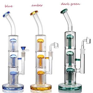 Armbaum Perc Recycler Öl Rigs Dicke Glas Wasserbongs Rauchrohr Bubbler Aschenfänger Rauchen Zubehör mit 14mm Gelenk