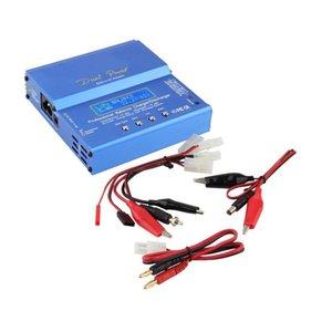 듀얼 파워 80W 전문 IMAX B6 AC B6AC Lipo Nimh 3S RC 배터리 밸런스 충전기 방전 어댑터 RC 취미