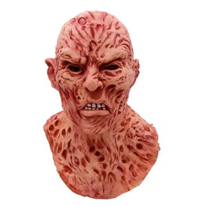 Freddy adulto fantasia spaventoso halloween natale festa maschera vestito maschera horror costume krueger c34k187 cosplay jmcsb