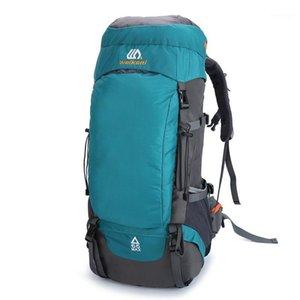 Рюкзак 65л водонепроницаемый унисекс Мужчины путешествия пакета сумки спортивные открытый альпинизм туризм лазания для мужчины