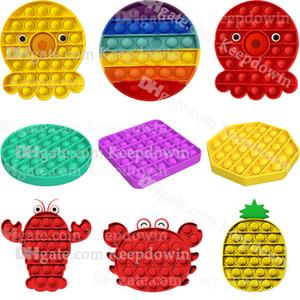 Pop Fidget Toy Sensory Push It Pop Bubble Fidget Sensory Toys Autism Special Needs Stress Reliever for Kid School Adult Office