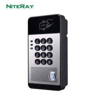 Neralay Q506 SIP Дверной Доступ Доступ Двери Домофон Водонепроницаемый IP65 Поддержка POE Y1128