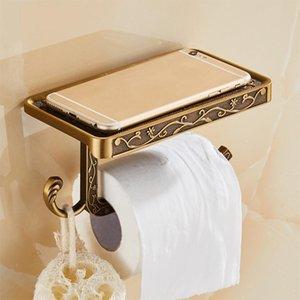 Antique Carved holder for your mobile phone Bathroom Towel Rack Toilet Paper Holder Tissue Boxes