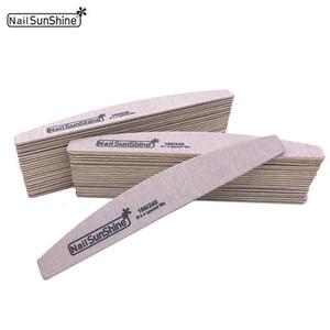 Hot 10pcs lot Nail File 180 240 Sandpaper Nail Buffer Block Emery Board Strong Thick Gel Para Unhas Manicure Accessoires
