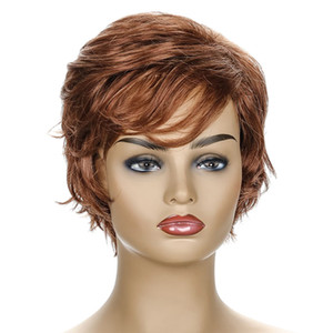 New Arrival Unique Design Wholesale Virgin Brazilian Curly Short Hair synthetic wigs For Black Women good quality curly human hair wigs