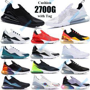 Nike air max 270 Hot regency viola nero foto blu 270OG cuscino scarpe firmate di lusso uomo donna be true sneakers sportive hot punch con osso chiaro