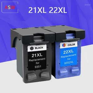 Чернильные картриджи 21 22 XL замена картриджа для 21xL 22xL DeskJet F2180 F2280 F4180 F380 380 принтер1