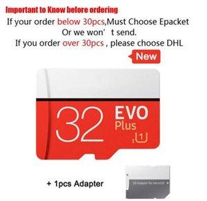 Brand 100% Real Capacity 32bg 64GB Micro SD Memory Card TF U1 Class10 High Speed Quality Retail Drop