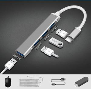 USB C HUB 3.0 Тип C 3.1 4 Port Multi Splitter Adapter OTG для ПК Компьютерные аксессуары DHL Бесплатный корабль Dysoon