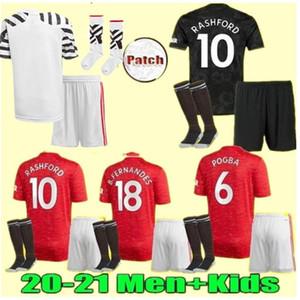 3RD MEN+ kids 2021 manchester fernandes greeenwood pogba united soccer jerseys 19 20 21 martial rashford 2020 football jersey