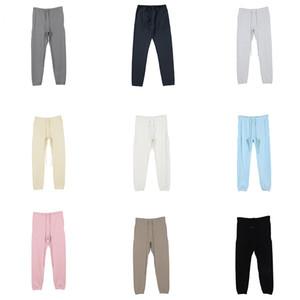 essentials fear of god Pantalon pour hommes pantalons de rue pour hommes de pantalon de survêtement réfléchissant casual HIP HOP Streetwear Asian Taille VL84