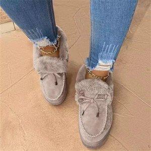 Frauen Stiefel Frauen Schuhe Winterschuhe CN (Herkunft) Flockschnee Stiefel Winter