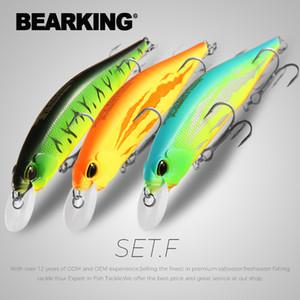 BEARKING 3pcs per set 12cm 18g SP jerkbaits hot model fishing lures hard bait minnow quality professional minnow depth1-1.8m 201103