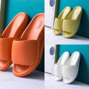 3709 New Arrivals designer kanye slipper Kanye West Slide Foam runner Womens Mens Slippers runner Sand Kids Shoes Bone Resin Desert Brown Ea