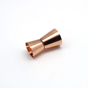 الفولاذ المقاوم للصدأ النبيذ كوب قياس 15/30 ملال مصقول مزدوجة الرأس كوب متعدد الوظائف بار أوقية شاكر كوب 4 ألوان شريط أدوات FFF4333