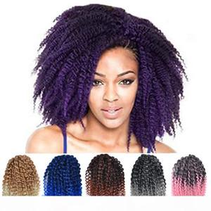 ZF Crochet Treids Dreadlocks 8 pollici Mali Bob Marley Treids Twists Capelli per le donne nere 3pcs Set Afro