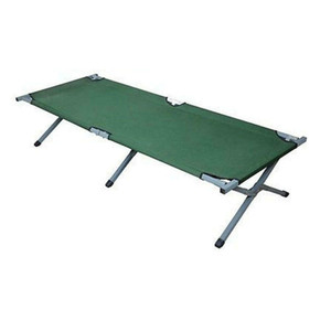 Portable Folding Camping Cot with Carrying Bag Outdoor Military Army Green