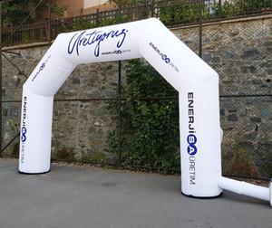 Großhandel im Freien aufblasbare Werbebogen-Logo-Bogen mit benutzerdefiniertem Druck, billiger aufblasbarer Rennbogen 3x2,5m