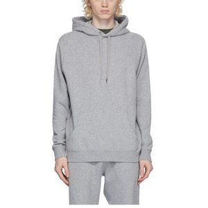 Oem Wholesale Winter Cheap Unisex Clothes Thick Fabric 100% Cotton Crossover Neck Pullovers Pastel Plain Coloured Hoodies