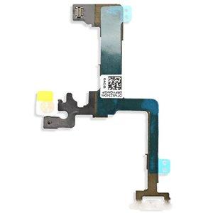 100 adet Güç Açık Kapalı Düğme Anahtarı Flaş Flex Kablo Yedek Parça iphone 6 6 S Artı Ücretsiz DHL