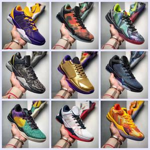 مع صندوق في الهواء الطلق رجل التكبير مامبا 7 بروتيا ليكرز ZK7 أحذية كرة السلة عالية الجودة أسود مامبا سلال مدربين الرياضة مصمم أحذية رياضية