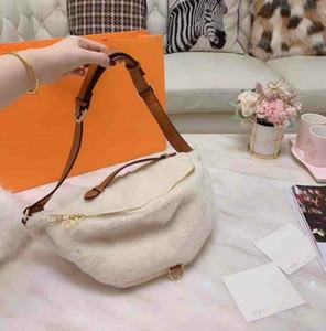 Роскошный дизайнер талия сумка для женщин дизайнерская талия сумка наклонная сумка на плечо барамика волосы волосы плюшевые мода высокого качества новая осень и Winte4