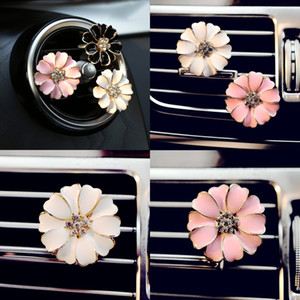 Car Perfume Clip Outlet Locket Clips Flower Auto Air Freshener Conditioning Vent Clip Home Essential Oil Diffuser For Car LXL113 33 N2