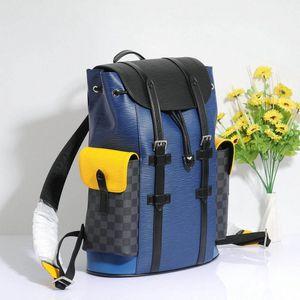 2020 Fashion Shows Designer-Luxury MensChristopher Pm backpacks Oxy Leather bagsmonogram bag Business Totes Messenger Pocket f5Vw#
