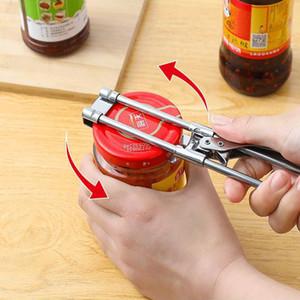 Universale 0,5-13.6cm Opener Rotary Cap Opener in acciaio inox Cappuccio a vite Manuale Apri creativo Can Apri