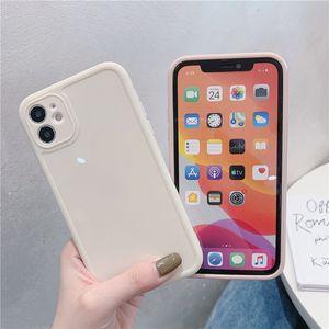 Ins Hot Selling Case TPU para iPhone 12 12PRO 6 7 8 x XR 11 Pro Max Lightweight à prova de choque à prova de atacado DHL