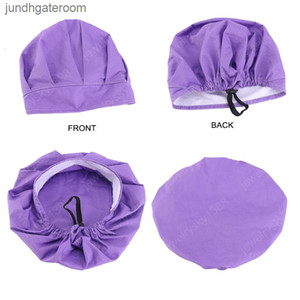 Sweatband Unisex Cotton Scrub Nurse Hat Adjustable Bandage Chef Working Caps Mens Bouffant Headwear Solid Color Daisy Pr