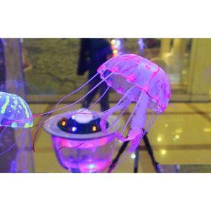 Glowing Effect Vivid Jellyfish For Aquarium Fish Tank Garden qylaxE new_dhbest