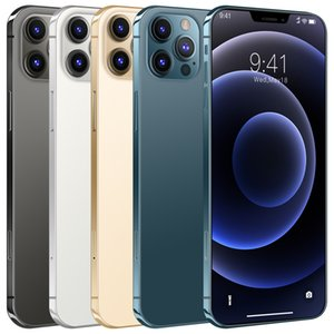 Déverrouiller Phon I12 Pro Max Téléphone haute vitesse 3G Réseau Smart Phone Smart Phone 6.7 pouces RAM 2GB + ROM 16 Go Fabricants Direct Vendre Téléphone mobile