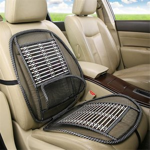 Waist Summer Cover Back Massage Universal Cushion Car Support Cool Seat Mesh Cushion Breathable Chair Lumbar 1pcs Car Pad1 Uqtlq